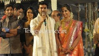 Ram Charan - Upasana - Wedding Reception For Mega Fans - 03