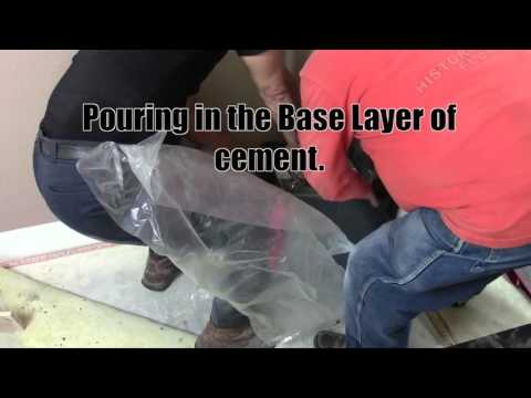 How to install a floor safe in concrete vidoemo for How to install a floor safe in concrete