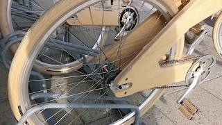 Coco Mat Wooden Bicycle Bike Preview
