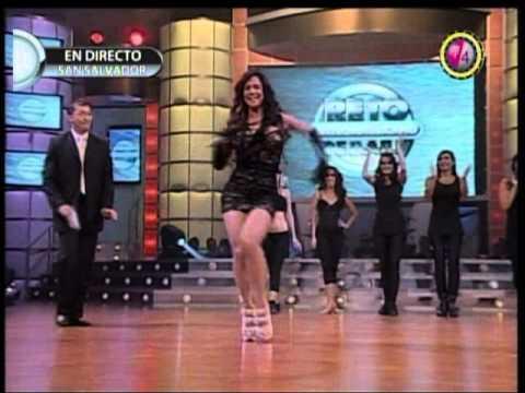 Liz Vega Reto centroamericano de baile 2011