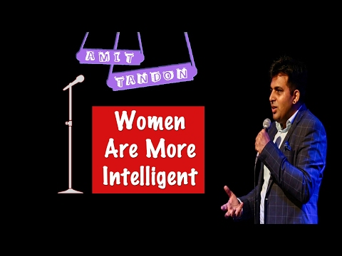 Xxx Mp4 Women Are More Intelligent STAND UP COMEDY By AMIT TANDON 3gp Sex