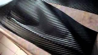 Carbon fiber vinyl wrap in Car Parts