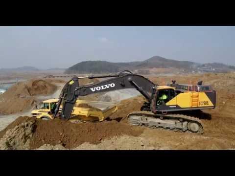 Volvo crawler excavator EC750E - high productivity & profitability