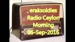 Radio Ceylon 05-09-2016~Monday Morning~02 Purani Filmon Ka Sangeet - Salil Choudhary