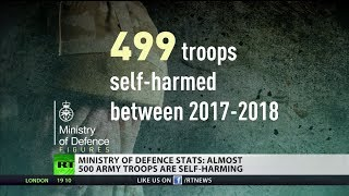 MOD stats: Almost 500 Army troops are self-harming