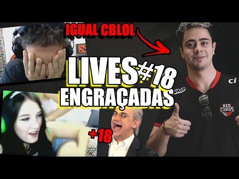 YODA NO CBLOL, DIANA FUDENDO IRMÃ E SKIPNH0 LOCAO | LIVES ENGRAÇADAS #18