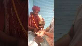 Non Muslim sadhu buying a meat from Muslim's shop in India. Video gone viral