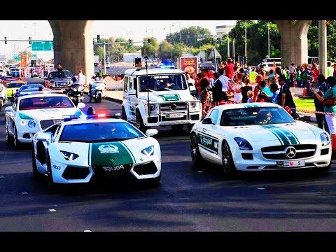 watch Dubai Police 2015 - The World's Best Police Cars - Dubai Police Supercars - DubaiTUBE