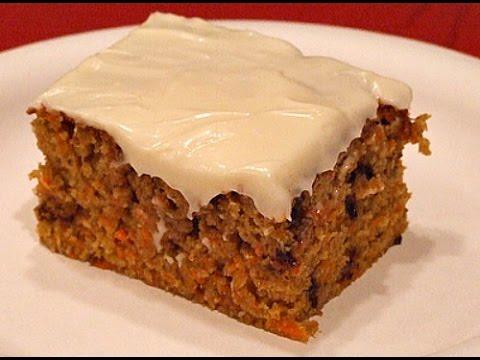 Морковный пирог американский рецепт с