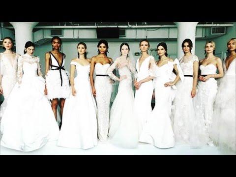 Marchesa Bridal Spring 2018 Collection | New York Bridal Fashion Week 2017