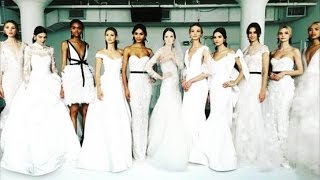 Marchesa Bridal Spring 2018 Collection | New York Bridal Fashion Week 2017