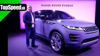 Range Rover Evoque jazda premiéra - Maroš ČABÁK TOPSPEED.sk