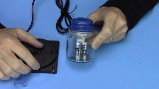 DIY solar light jar