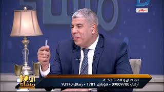 """العاشرة مساء  نهاية مؤسفة جداً للحواربعد قيام أحمد شوبير بضرب أحمد الطيب على الهواء """"خناقة حقيقية"""""""