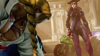 Juri vs Vega (Street Fighter V Story)