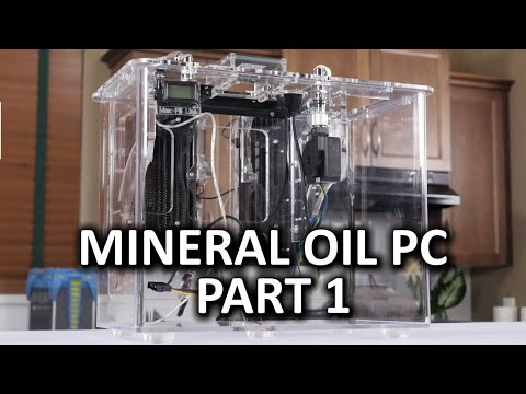 Mineral Oil Submerged PC Build Log Part 1 Puget Systems Kit Case Assembly