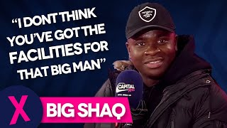 Big Shaq Responds To Your Comments On His 'Mans Not Hot' Video