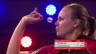 Dobromyslova vs Winstanley Darts Ladies World Masters 2017 Quarter Final