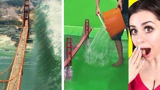 Movies BEFORE AND AFTER Special Effects