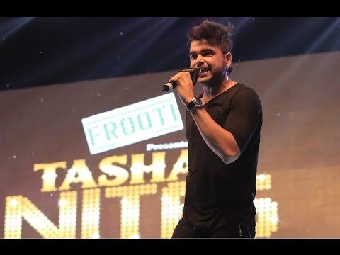 Ninja Punjabi Singer - Live Performance - Teri Bhabhi Hai - Tashan Nite - Chandigarh University