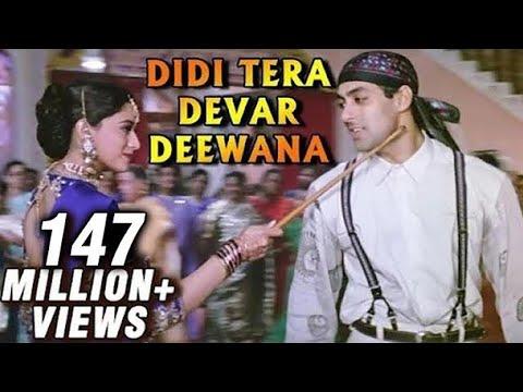 Didi Tera Devar Deewana Hum Aapke Hain Koun Salman Khan Madhuri Dixit Best Bollywood Song