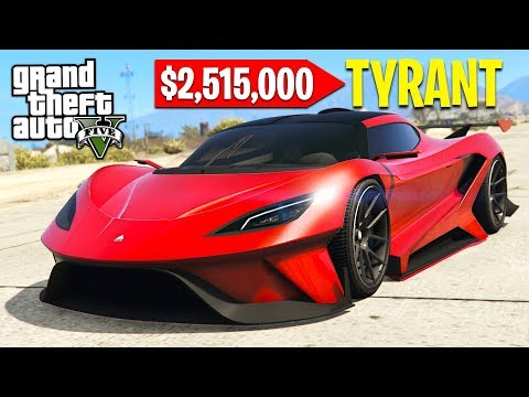 Xxx Mp4 GTA 5 NEW 3 000 000 TYRANT SUPERCAR GTA 5 Online DLC Update 3gp Sex