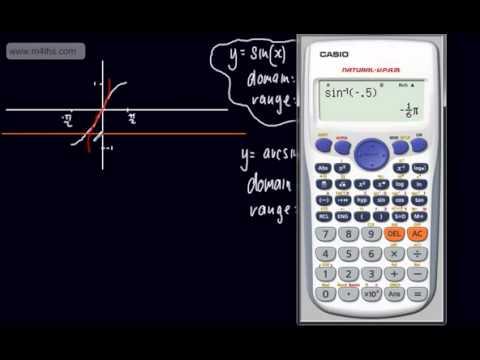 Core 3 - Trigonometry (2) - Inverse Trig Functions