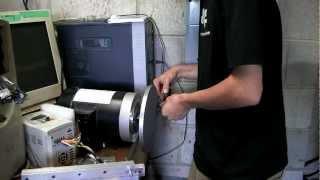Making a disc sander