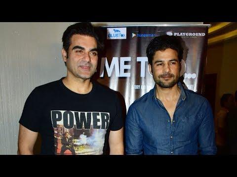 Xxx Mp4 Arbaaz Khan Rajeev Khandelwal At The Special Screening Of Short Film Me Too 3gp Sex