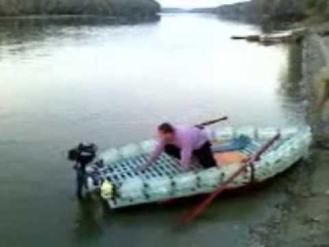 как самому сделать лодку из полиэтилена