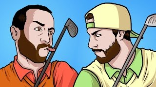 MINI GOLF ENEMIES ft Drake - Golf it! Funny Gameplay Moments