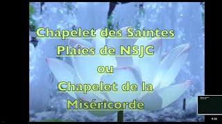 Chapelet des Saintes Plaies de NSJC_Soeur Marie Marthe Chambon