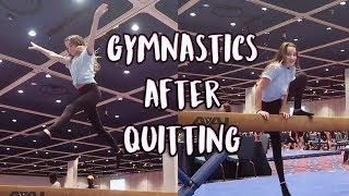 ANNIE LEBLANC'S GYMNASTICS AFTER QUITTING! 5 Months On Edit