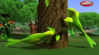Lazy Parrots | मराठी कथा | 3D Moral Stories For Kids in Marathi | Animal Stories in Marathi