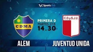 Primera D: Leandro N. Alem vs. Juevntud Unida l #PrimeraDenTyC