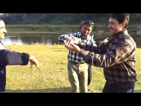 Nepali picnic dance in Damauli Tanahun