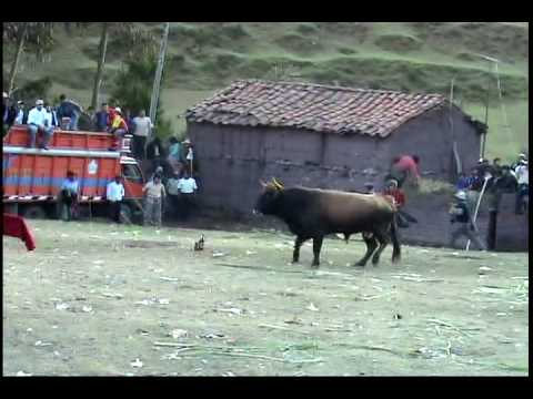 Fiesta en Anta Acobamba Huancavelica corrida de toro en en Pucaccaca