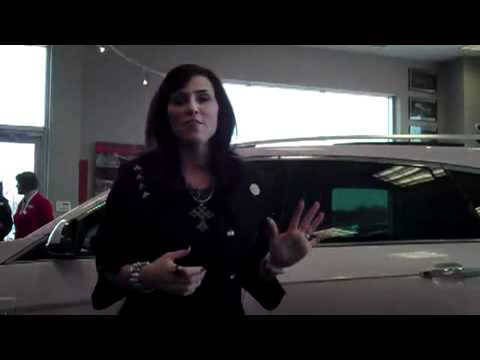 LaFontaine Cadillac - Maggie Star Gets Her Mary Kay Pink Cadillac SRX - Highland, MI