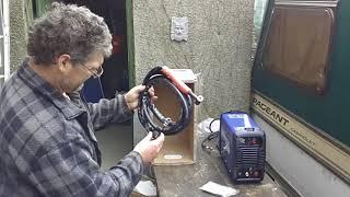 My new wolf tig 200 amp welder
