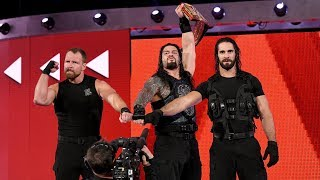 Relive The Shield's shocking reunion