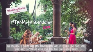 TheMitAliWedding | WeddingNama | Save The Date (The One with the dogs!)