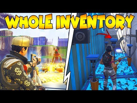 Dumb Scammer Gets My Inventory Big Mistake 😫 Scammer Gets Scammed Fortnite Save The World