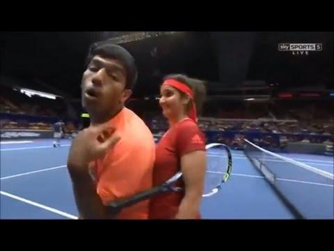 Xxx Mp4 Sania Mirza S Boobs Touching By Rohan Sania Mirza Hot Video Sania Mirza Indian Tennis Star 3gp Sex
