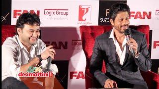 SRK's FAN Movie Press Conference || FAN || shah Rukh Khan