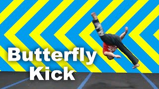 Butterfly Kick Tutorial (How to Parkour & Freerunning)