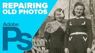 How to Repair Old Photos in Photoshop (4K)