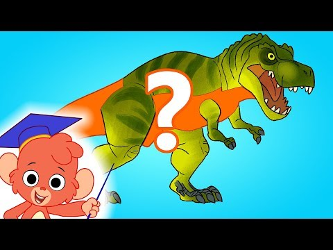 Learn Dinosaur names | T Rex Turn and Learn | jurassic dinosaurs cartoon videos for kids