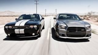 2012 Dodge Charger SRT8 vs 2011 Dodge Challenger SRT8 392 | Track Tested | Edmunds.com