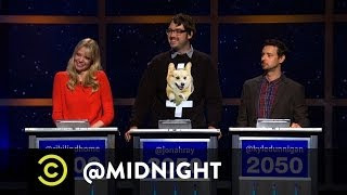 Riki Lindhome, Jonah Ray, Kyle Dunnigan - New Netflix Categories - @midnight w/ Chris Hardwick