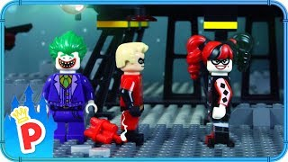 ♥ LEGO Mr. Incredible VS Harley Quinn SUPERHEROES FIGHT Stop-Motion Animation